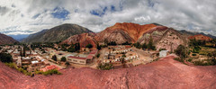 purmamarca jujuy argentina (mariusz kluzniak) Tags: panorama colour argentina lens view angle sony south hill north wide 7 sigma super southern alpha 1020mm northern 77 slt salta purmamarca jujuy lenses a77 merica