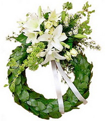 FTD Celebration or Memorial Wreath (dobdeals.com) Tags: flowers wreaths eventsupplies