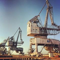 Cranes at Khor Al-Zubair Port