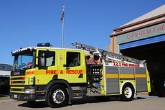 ACTFRS Chisholm 7 (adelaidefire) Tags: rescue station fire capital australian fraser act scania territory chisholm actfrs