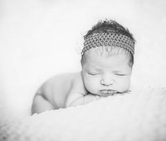 Baby Maisie (Jay Cassario) Tags: sleeping bw baby studio nikon nj backdrop lightroom lr5 jaycassario d800e cassimaging