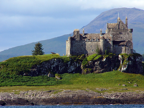 duart castle by Philippe Giabbanelli creative commons