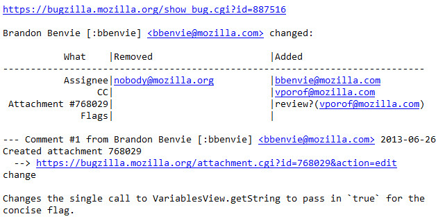 Bugzilla Plain Text Email