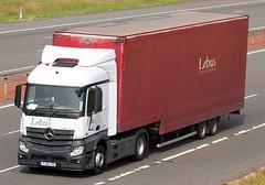 Mercedes Actros MP4 YJ13 LVS - Lebus (gylesnikki) Tags: truck artic mp4 lebus lockerbie a74m