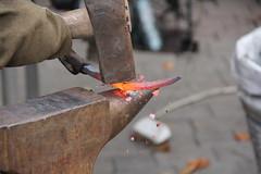 IMG_1434 (sasha_ua) Tags: autumn beauty metal hammer work spring hit power hard smith ukraine strike blade blacksmith tongs sledge donetsk pinchers forceps worktime bladesmith