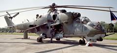 Mi-24V Hind D Czech AF Fairford 97 3 (joolsgriff) Tags: czech 1997 hind mil fairford riat mi24 0839 riat97
