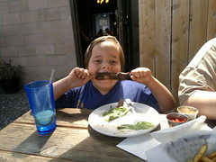 Lunch al fresco (glitzypursegirl) Tags: tahoe