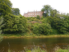 Corby Castle (penlea1954) Tags: family red england house tower castle parish century river sandstone village howard great historic cumbria eden peel 13th corby salkeld wetheral