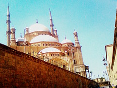 The Muhammad Ali Pasha Mosque (Lili Shafinaz) Tags: travel holiday citadel egypt middleeast mosque cairo masjid saladin historicalplace islamicculture worldicon salahuddinalayubi