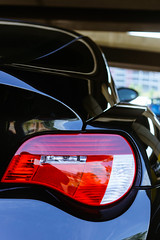 (Stephen Hennessey) Tags: red black baltimore cc bmw z4 coupe taillight attribution z4m grandprixofbaltimore