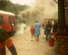 fam 1978 06 xc Lakeside ? (robsue888) Tags: train lakedistrict rail railway cumbria 70s 1978 1970s windermere dateestimated