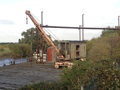 Derelict crane (seanofselby) Tags: river crane jetty pauls ouse selby bocm