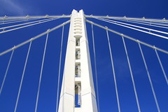 The East Span (A(nDroid)Sebrell) Tags: sanfrancisco california bridge oakland baybridge eastbay sas suspensionbridge sanfranciscooaklandbaybridge
