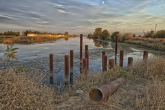 DSC_1347 (RHMImages) Tags: ca sunset water landscape nikon rust delta rusted rusting brentwood d600 deltaroad