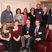 """<b>1988 #8</b><br/> Front Row: Lora (Larkin) Busch, Jane (Hammond) Steffen, Craig Rasmussen, Joel Ludvigsen. Back Row: Dale Beckman, Michele (Allen) Kloster, Michelle Masterson, Karen Olson, Kristor Hustad, Callista (Bisek) Gingrich, Mark Zabransky. <a href=""""http://farm3.static.flickr.com/2848/10422601513_5330c9b527_o.jpg"""" title=""""High res"""">∝</a>"""