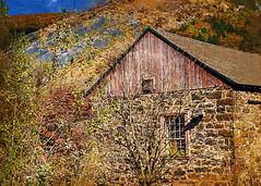 2013 - ABANDONED (SAMcRAE PHOTOGRAPHY) Tags: autumncolors abandonedstonebuilding nikond600