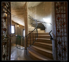 """Hearst Stairway • <a style=""""font-size:0.8em;"""" href=""""http://www.flickr.com/photos/19658346@N02/10602952695/"""" target=""""_blank"""">View on Flickr</a>"""
