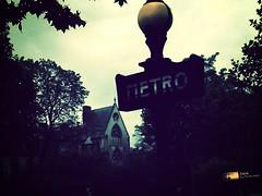 Metro (Massimo Gerardi) Tags: trees red cloud paris france verde green church grey la ancient grigio metro cloudy chiesa cielo lumiere francia metropolitana eglise ville sorbonne cluny parigi nuvoloso flickrandroidapp:filter=mammoth