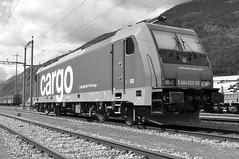 briga area stazione #19 (train_spotting) Tags: brig valais bombardier sbbcffffs sbbcargo traxxf140ms sbbdepot e484020 re4840203