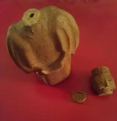 balcony shenanigans (Opal in the rough) Tags: broken ceramic king 3wisemen