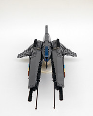 Armored Raven MKII (Agent WHO) Tags: fighter lego space scifi spaceship raven armored spacecraft mkii moc starfighter gradius vicviper armoredraven