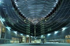 Milano (anna bertocchi) Tags: city italy milan architecture night italia milano architettura contemporanea