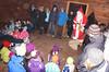 Samichlaus in der Waldhütte (bcuzwil) Tags: santa christmas kids club weihnachten schweiz switzerland kinder weihnachtsmann claus badminton wald bcu samichlaus uzwil badmintonclub schmutzli