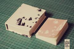 (be light) Tags: paisaje carton montaas cuadernos cajas artesanales forrado marialuzriegelhaupt cuadernosdeluz