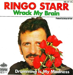 16 - Starr, Ringo - Wrack My Brain - D - 1981 (Affendaddy) Tags: 1981 ringostarr thebeatles germanx bellaphon vinylsingles collectionklaushiltscher ukrockpop wrackmybrain drummingismymadness 10007175