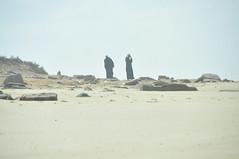 deserto (serena.borgia) Tags: ocean trip travel sea people man beach photo nikon mare marocco ocano