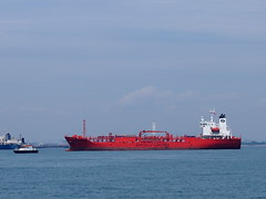 Bow Singapore @ ALGAS (tord75) Tags: sea water port singapore ship harbour 2013 therealsingapore