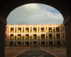 Old San Juan, Puerto Rico (Oquendo) Tags: old buildings puerto san cityscape juan historic rico tropical viejo