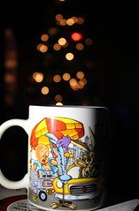 a piece of lights. (saraallison97) Tags: christmas new york xmas light red italy white black cup glass colors yellow night vintage lights amazing italian perfect bright tea flash cartoon disney beep american mug hd looney cartoons brightness gd perfection pois toons christma wordless