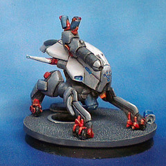 Reaktion Zond (waferthinninja) Tags: painting miniatures infinity figures nomads reaktion zond vision:sky=0592 vision:outdoor=0979