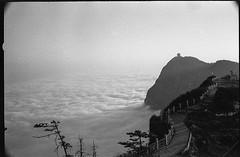 Emeishan 2013 (Vasilij Betin) Tags: china bw mountains film 35mm landscape voigtlander grain hp5 konica emeishan sichuan ilford rf herar