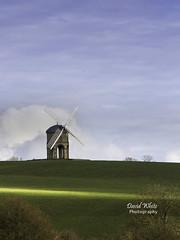 Spring Sunshine (bretton98) Tags: uk blue sky windmill sunshine architecture rural nopeople historical warwickshire artisan gradeiilisted shaftsofsunlight chestertonmill canon7d bretton98 davidwhitephotography