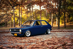 Audi 50 (Evano Gucciardo) Tags: blue art fall classic cars vintage nikon warm euro low wheels automotive german 50 audi rare classiccars classy slammed stance d800 autoart automotivephotography transportationphotography worldcars rotiform