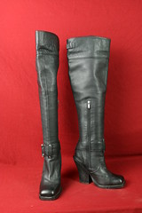 Size 6 Black Colin Stuart OTK Boots (Fanta_Productions) Tags: highheels boots highheelboots blackboots thighhighboots colinstuart overthekneeboots buckledecoration