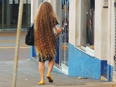 LONG HAIR (Mauricio Portelinha) Tags: woman captaincaveman brazilianwoman naturehair