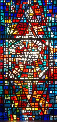 Stained Glass Window, Skálholt Cathedral, Bláskógabyggð
