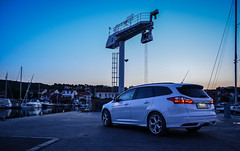 am hafen (D - 15 photography) Tags: white holiday ford st frozen focus estate croatia tuning turnier kombi hrvatska mk3 jezera murter