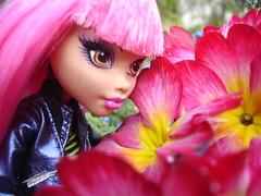 Flowerpower  (madclawdeen) Tags: monster high wolf fear madison howleen