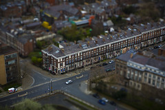 Little Liverpool (Thomas Grotmol) Tags: city uk england blur cars liverpool toy town europe little unitedkingdom britain euro great shift tiny gb tilt tiltshift tinytown