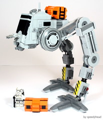 Modified AT-PT (speedyhead79) Tags: lego starwars atpt empire walker cargo