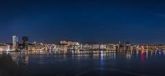 Årstaviken, panoramic (photomatic.se) Tags: ifttt 500px årstaviken sjövikskajen stockholm sweden cityscape nightscape stars astrophoto city panoramic