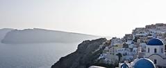 The dreamy town of Oia, Santorini, Greece (somabiswas) Tags: oia santorini greece domes waterscape island aegean sea saariysqualitypictures