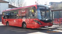 P1490833 1258 YY66 PZE at Wood Street Station Wood Street Walthamstow London (LJ61 GXN (was LK60 HPJ)) Tags: ctplus hackneycommunitytransportgroup enviro200 enviro200d enviro200mmc enviro200dmmc e200d mmc majormodelchange 1258 yy66pze g26921