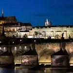 Evening Prague Castle and Charles Bridge thumbnail