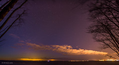 Light pollution (Incredible Imagination) Tags: stars night light pollution helsinki from tallinn longexposure panorama estland estonia viro kq kakumäe city trees sea seaside outside 2017 nikon d600