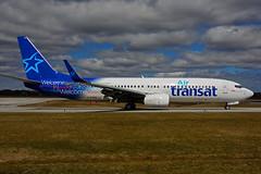 C-FYQO (Air Transat) (Steelhead 2010) Tags: airtransat boeing b737 b737800 yhm creg cfyqo